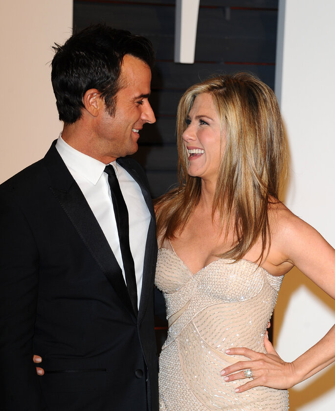 Jennifer Aniston y Justin Theroux.