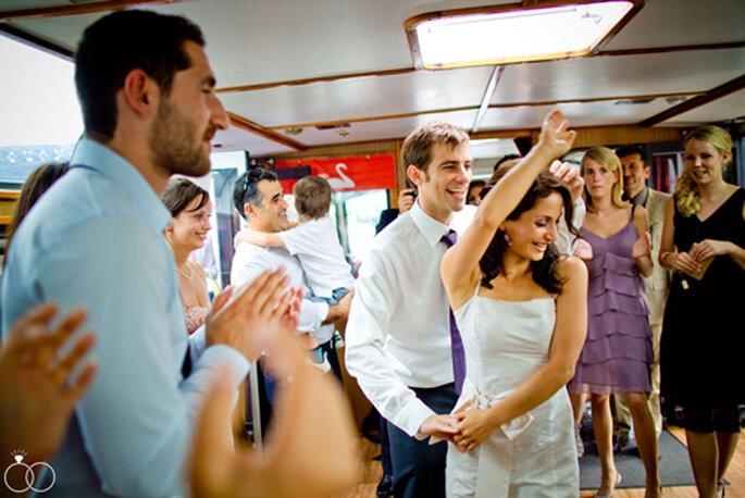 er erste Hochzeitstanz: Sepideh und Michael - fotografiert von Katja Schünemann.