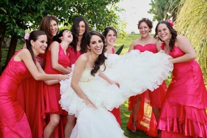 Brautjungfern dürfen auf keiner  Hochzeit fehlen - Barrera & Fitch photography Lidia Fitch Fotogapher  http://www.barrerafitch.com