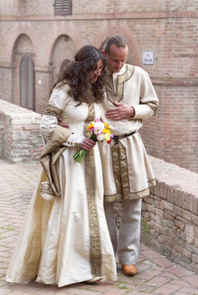 Romantik im Mittelalter! Ein Hochzeitsmotto, das unvergesslich bleibt – Foto: www.atelier-verdande.de