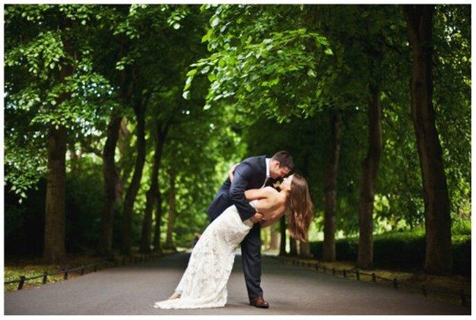 Luce perfecta con tu vestido de novia - Foto Stacy Reeves
