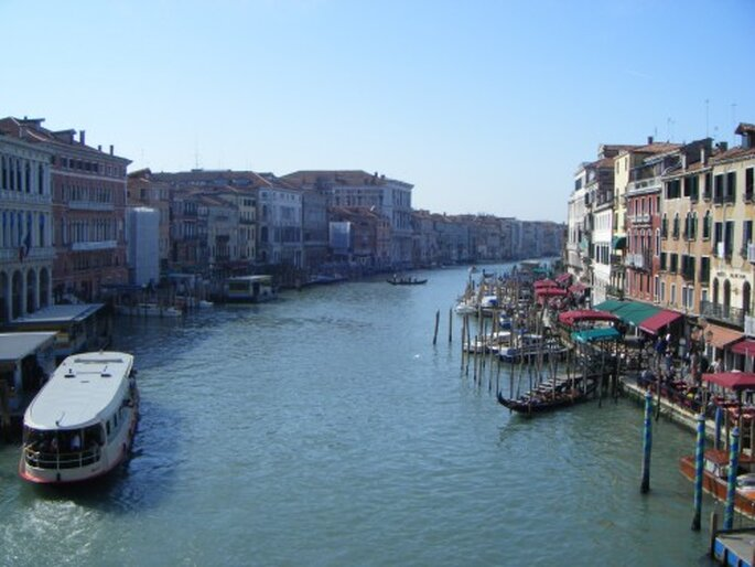 El gran canal, Venecia, Italia. Foto: Gaby Gómez