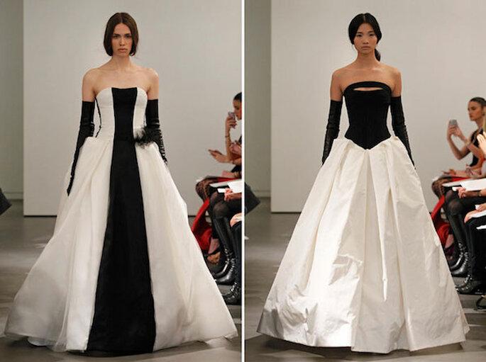 Un vestido de novia inspirado en este elegante patrón - Foto Vera Wang