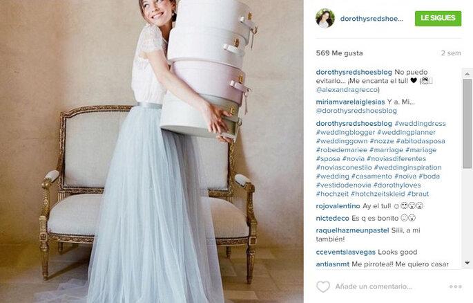 Imagen vía Instagram Dorothy's Red Shoes