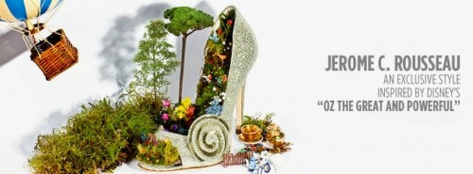 """Zapatillas de novia inspiradas en la magia y el encanto de """"Oz"""" - Foto Jerome C. Rousseau"""