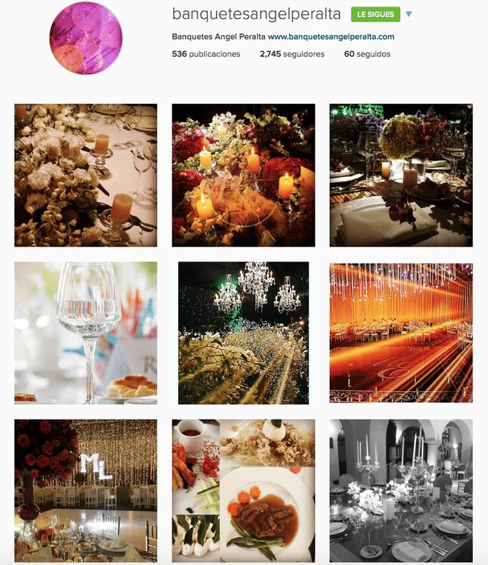 Banquetes Ángel Peralta Instagram