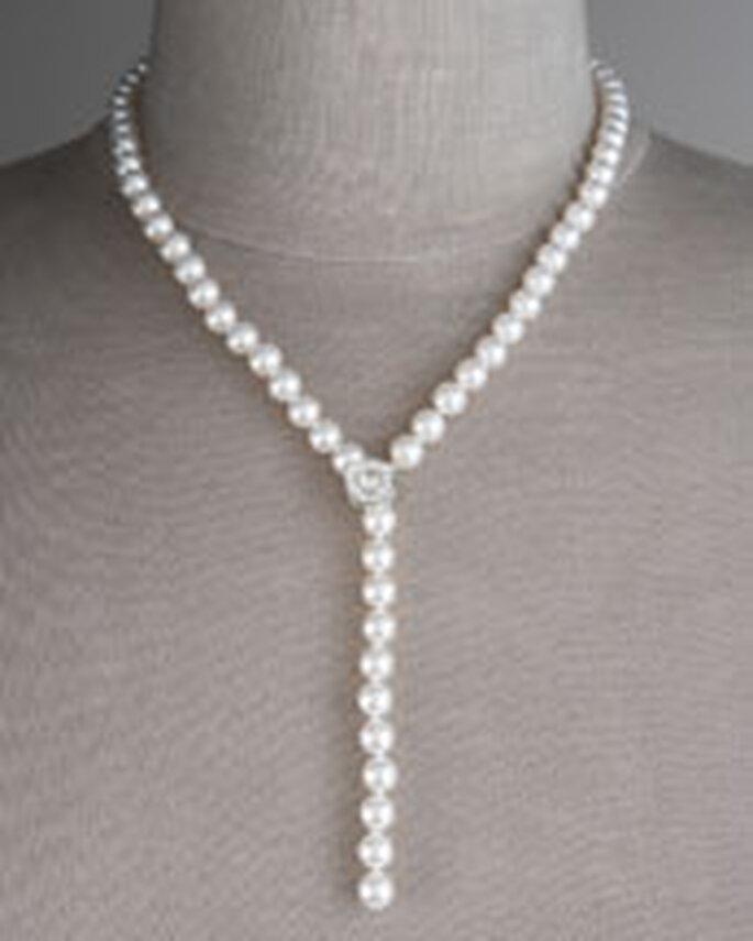 Collar de perlas modernizado