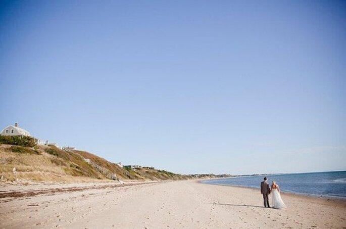 Las bodas destino son principalmente en la playa