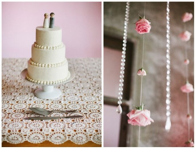 Ideas para decorar tu pastel con la tendencia vintage - Foto Stacy Reeves