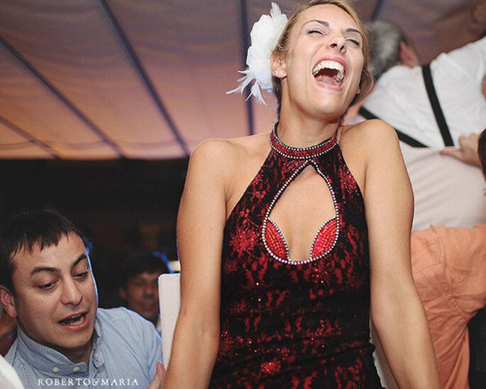 Luce como las famosas en tus fotos de boda - Foto: Roberto y María