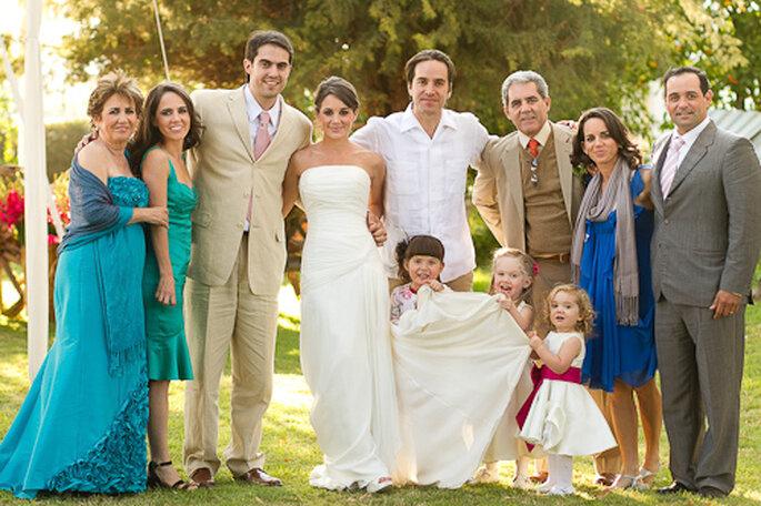 Sesión fotográfica familiar. Foto de Pepe Orellana