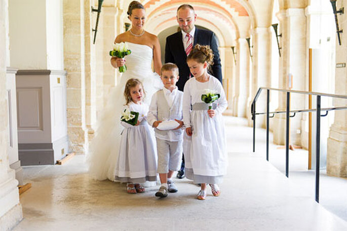 Real Wedding Anne Lyse et Nicolas - Photo : Xavier Bescond