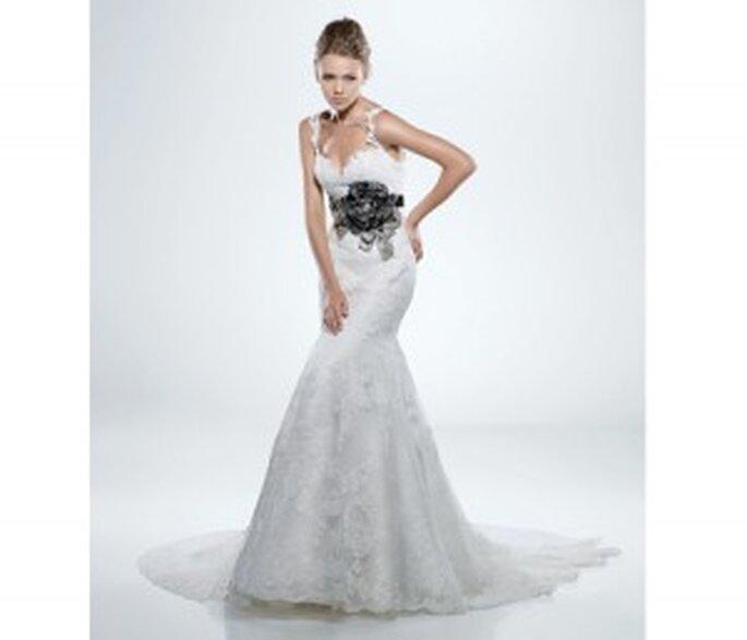 Vestido de novia Enzoani para Cáncer