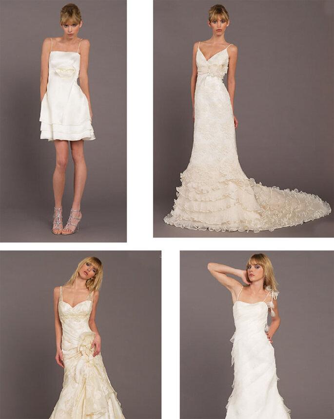 Vestidos de novia con tirantes de Model Novias