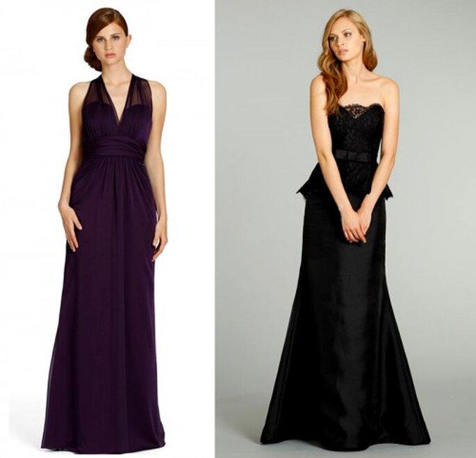 Vestidos de gala para damas de boda inspirados en el Día de Brujas - Foto JLM Couture