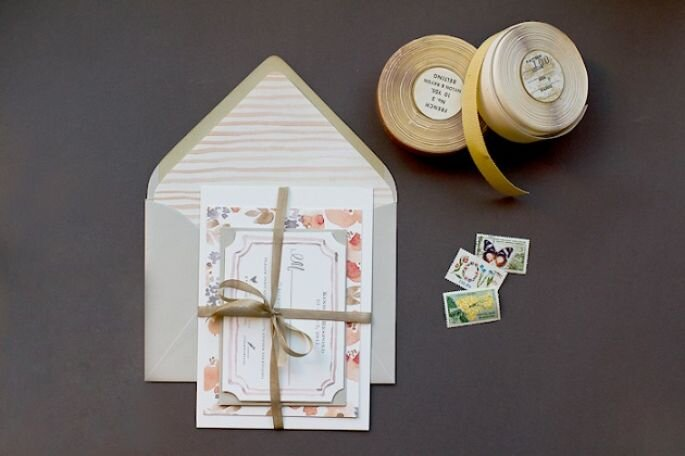 Boda con detalles handmade - Oh so beautiful paper