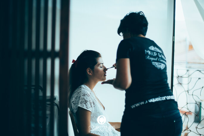 Maquillaje: Raquel Coronado. Foto: Rubén Mejías