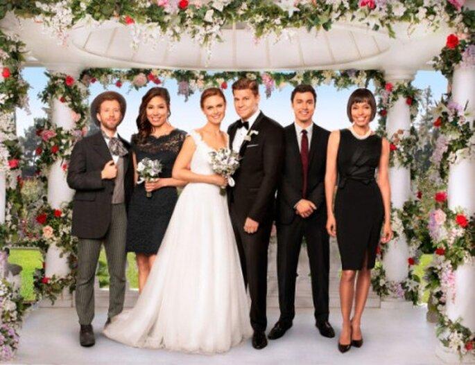 """""""The Woman in White"""" el capítulo de la boda de Brennan y Booth de la serie """"Bones"""" - Foto FOX"""