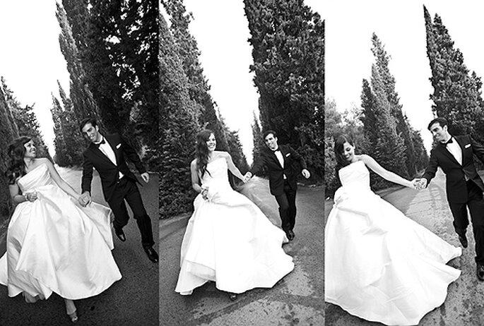 Los novios escogieron la Finca Mas Solers para su boda. Foto: Punto de Vista