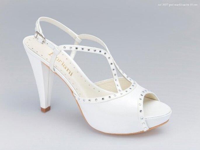 Zapatos de novia Doriani 2011 - Piel Marfil - Tacón 10 cm.