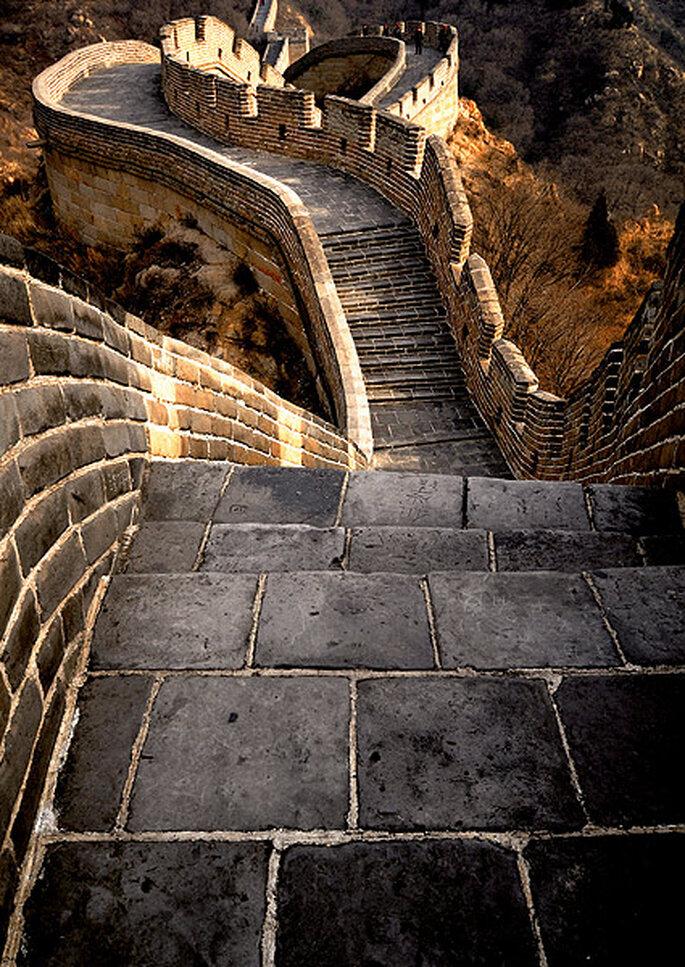 La Gran Muralla China, a vuestros pies. Foto: Viajes Kuoni
