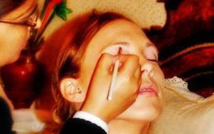 Peluquería y maquillaje a domicilio para novias