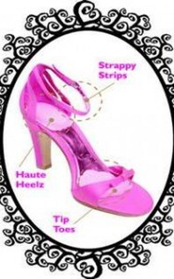 Plantillas para los zapatos de tacón de Foot Petals