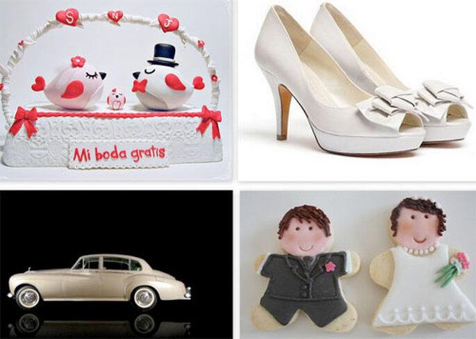 Premios y regalos para la boda de Sonia. Foto: Sonia Justo