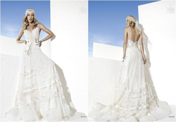 Vestido de novia Manises de Yolan Cris 2014. Foto: www.yolancris.es
