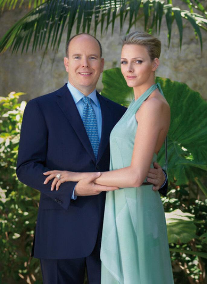El Príncipe Alberto II de Mónaco y Charlene Wittstock - gala.de