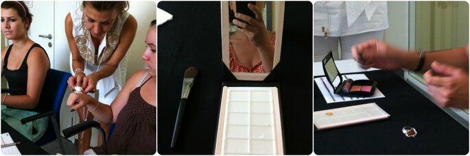 Un trattamento per le mani prima di procedere al make up