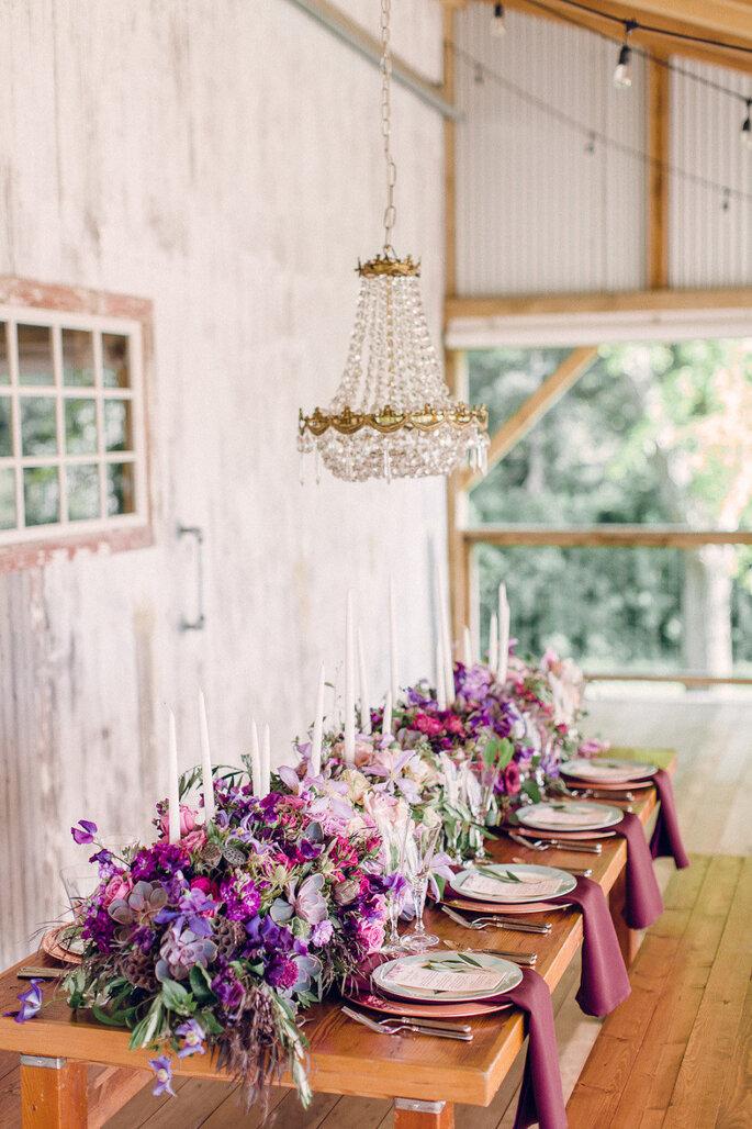 Púrprua en tu boda - Bradley James Photography
