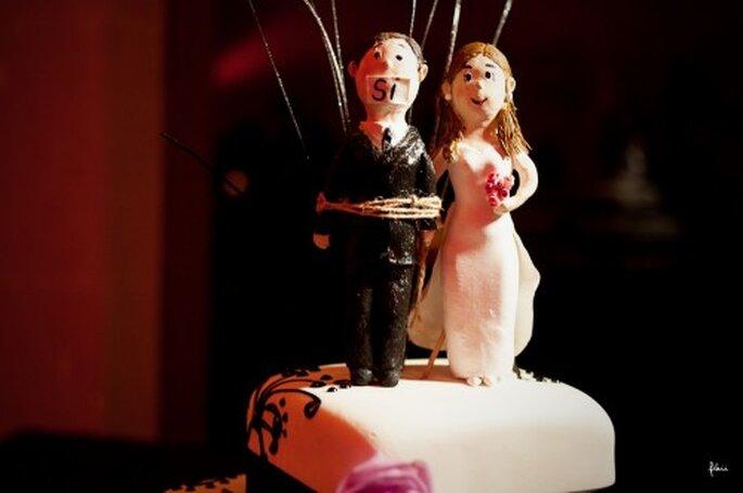 Decoración de la boda de Eugenia y Abel. FlaiiFoto