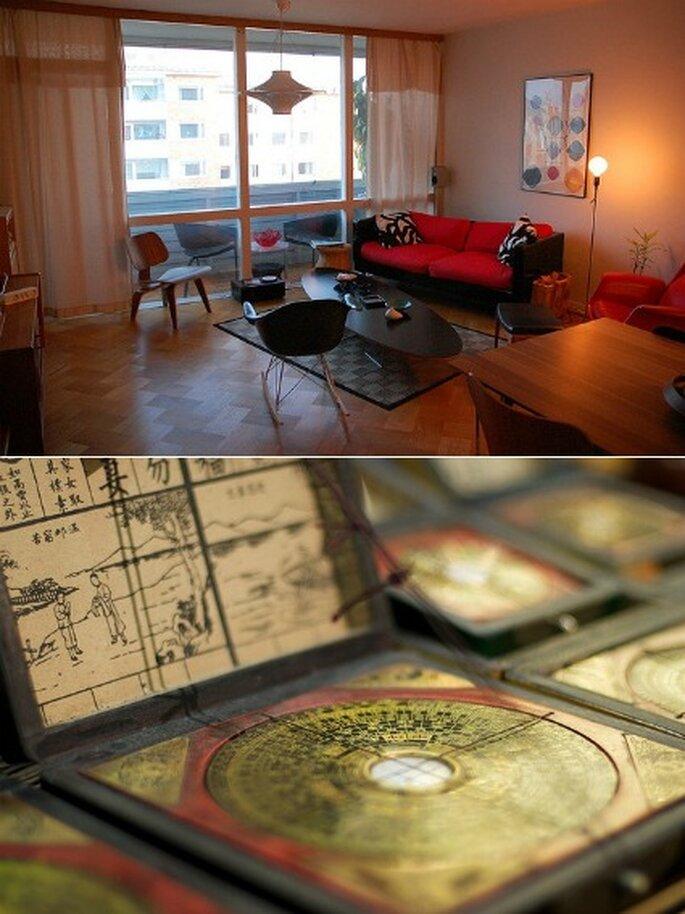 Aplica el feng shui para decorar el sal n de la boda - Feng shui en el salon ...