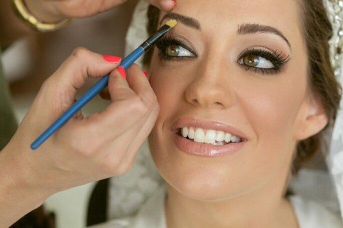 Perfekte Augenbrauen sind Vorraussetzung für ein schönes Hochzeits-Make up – Foto:www.erickpozosblog.com
