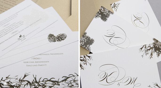 Hochzeitskarten von Andrea Stähr