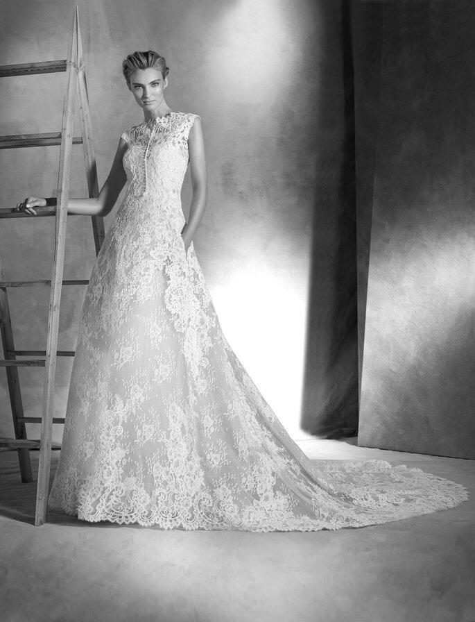 Свадебное платье Isabella. Фото: Pronovias 2016