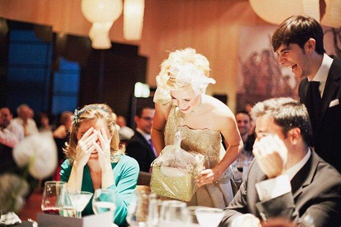Las sorpresas se sucedieron durante toda la boda. Foto: Díez & Bordons.