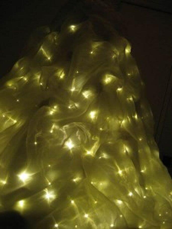 Vous êtes lumineuse, votre robe aussi