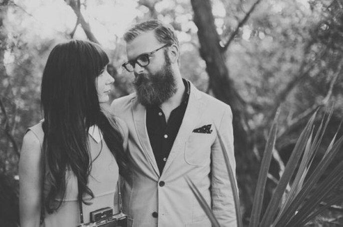 Romantique séance photo avec pour inspiration l'univers de Wes Anderson - Photo Alyssa Shrock