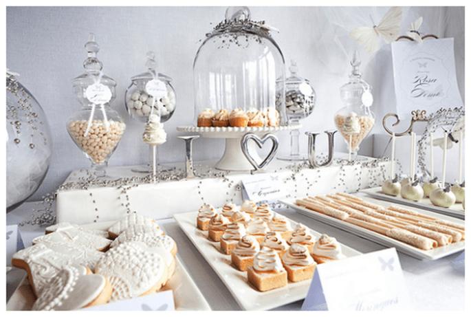 Las mesas de postres más lindas y elegantes del 2013 - Foto Rena Harvey
