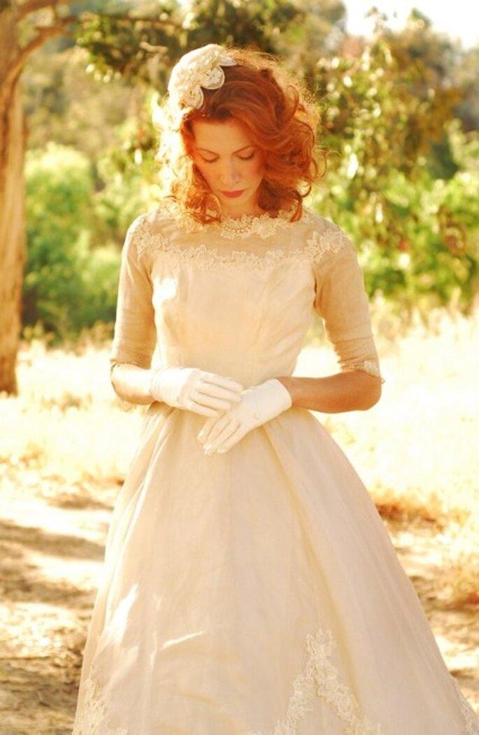 5 robes de mariée vintage