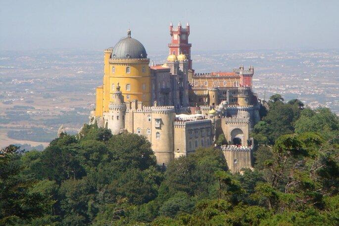 Palácio da Pena, em Sintra. Foto: Guillaume70 / Wikipedia