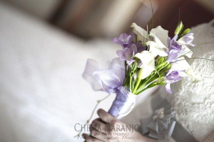 Ramo de novia tendencia primavera-verano. Fotografía Chema Naranjo