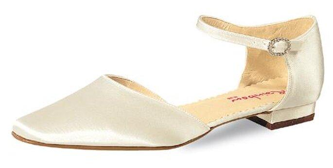 """Modell """"Gail"""" von Elsa Coloured Shoes. Bequeme Brautschuhe sind ein Muss für die Braut."""