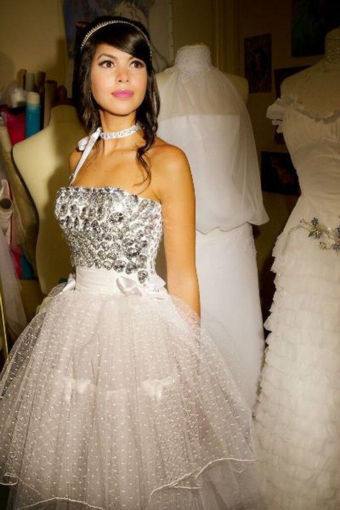 Pour une robe de mariée unique et sur-mesure, vous pouvez opter pour Aurèle Création