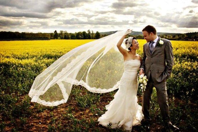 ¿Qué vestidos de novia se llevan para casarse en el campo?