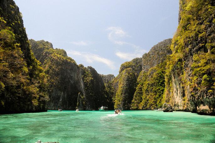 Los 10 mejores destinos del mundo para irte de luna de miel - MYO HAN HTUN en Shutterstock