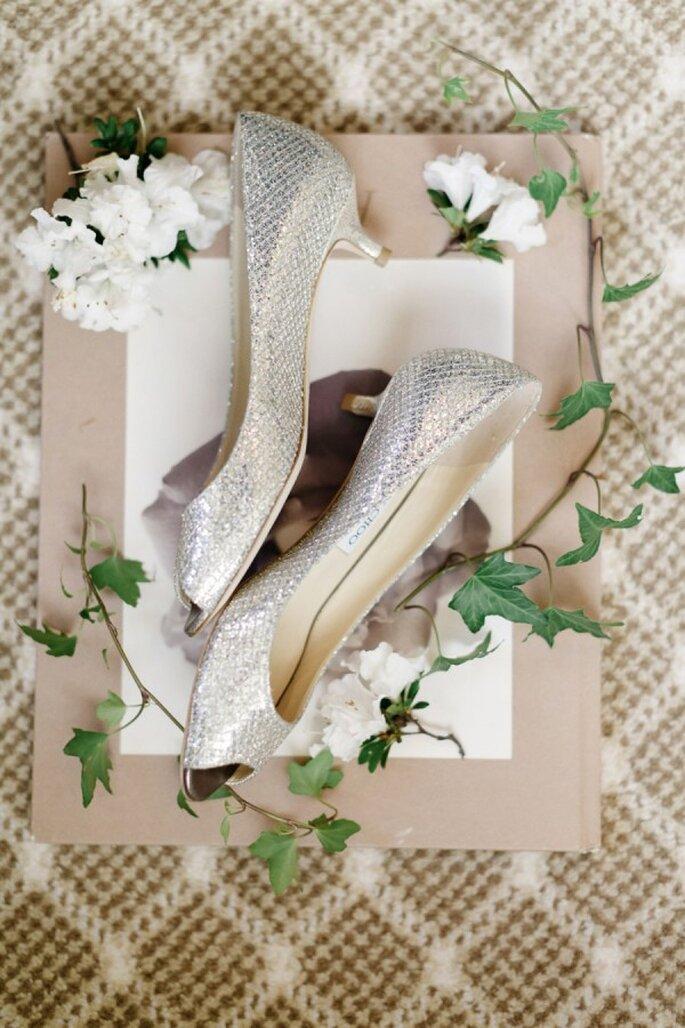 Zapatos de novia con aplicaciones y brillos - Jana Williams