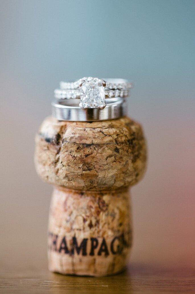 Todo lo que los novios tienen que saber para elegir el anillo - Foto Jasmine Star